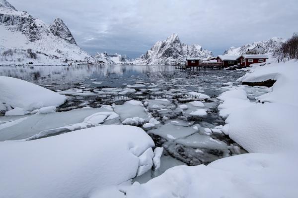 Winter at Reine by edrhodes