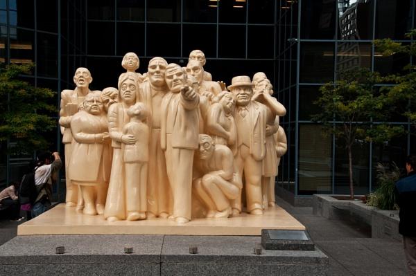 Montreal Street Sculpture by barryyoungnz