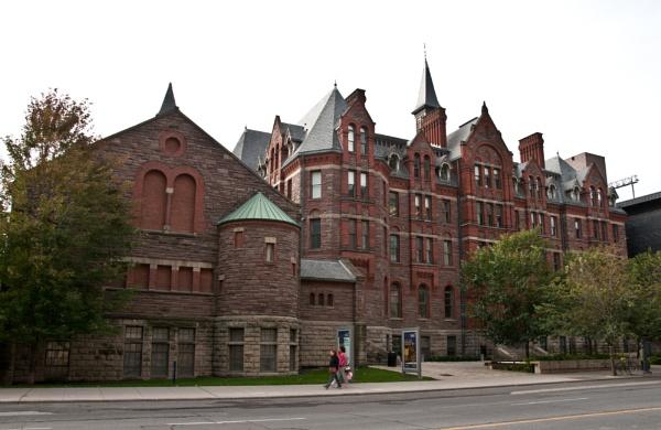 Toronto University by barryyoungnz