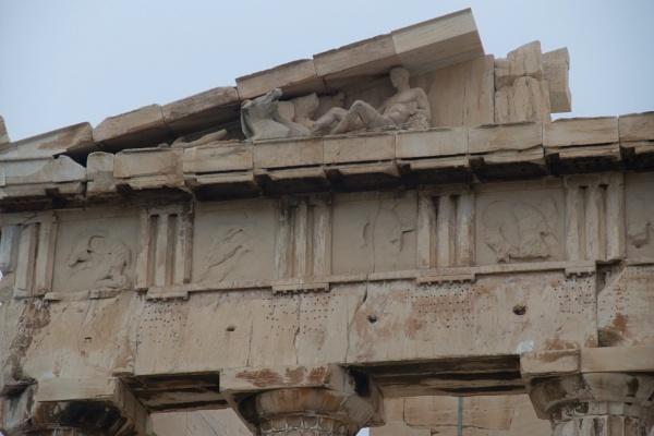 Acropolis - The Parthenon - Detail by MentorRon