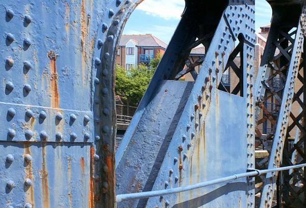 Swing Bridge 2 by pamelajean