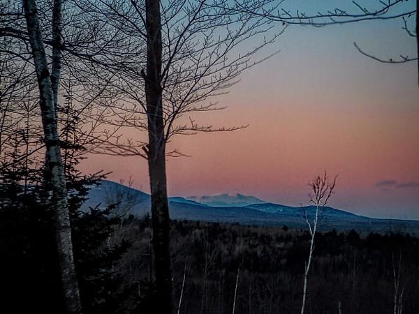 Mountain Twilight by Joline