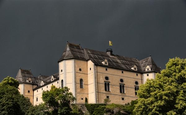 Cesky Krumlou Castle by Zydeco_Joe