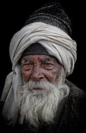 Old man in Haridwar