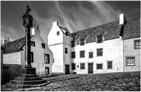 Culross Cross, Fife by mac