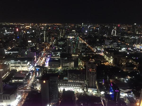 Night time in Bangkok by caj26