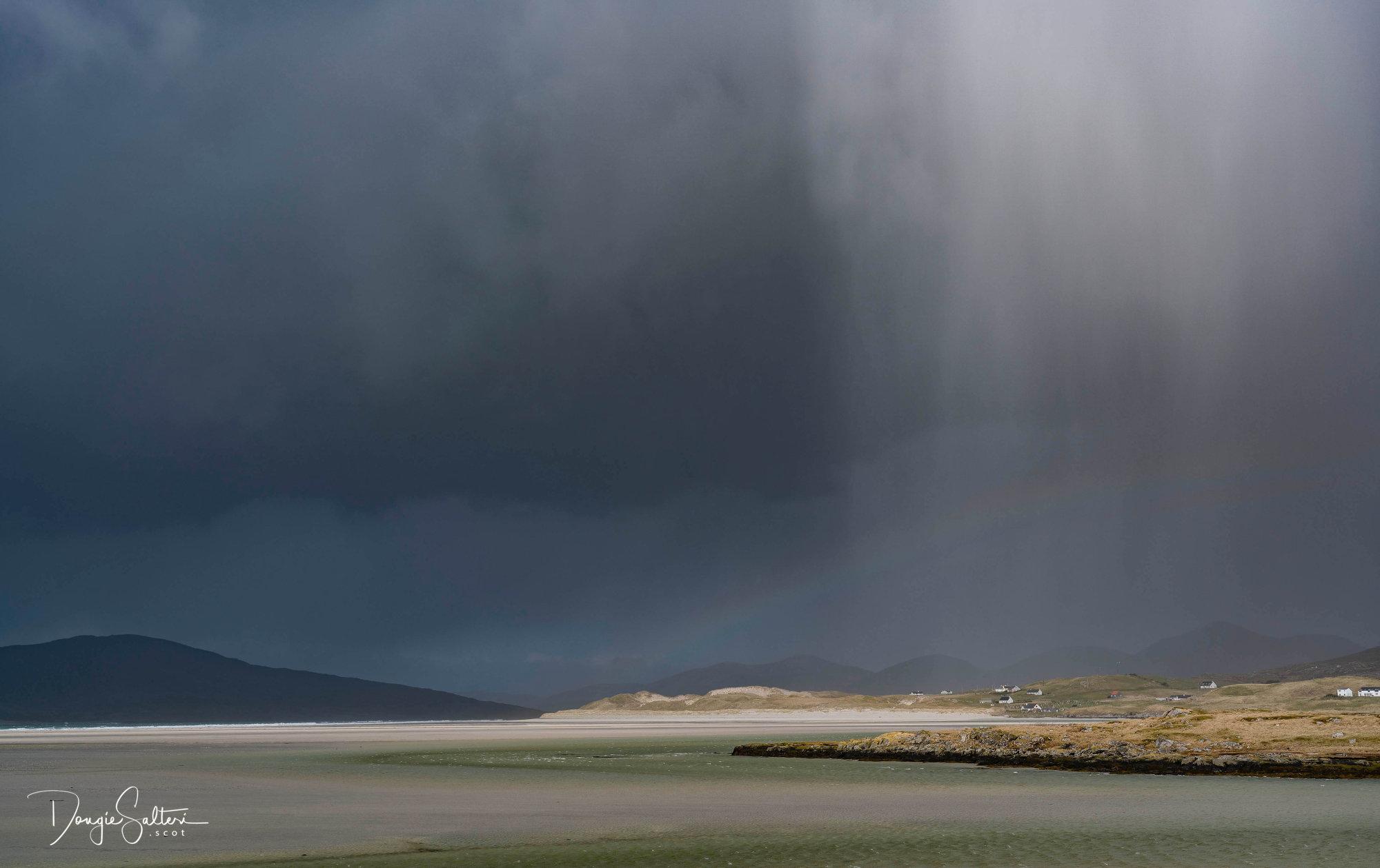 Rainbow and Hail...