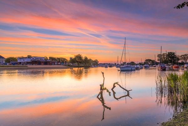 Red Sky Quay by NickLucas