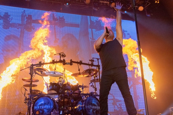 Disturbed Live in London by SunPrints