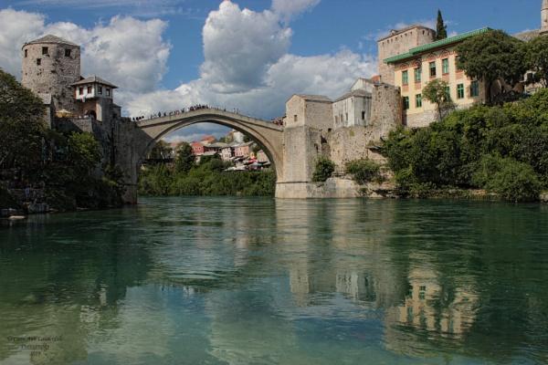 Stari Most - Old Bridge, Mostar, Bosnia Herzegovina by canoncarol