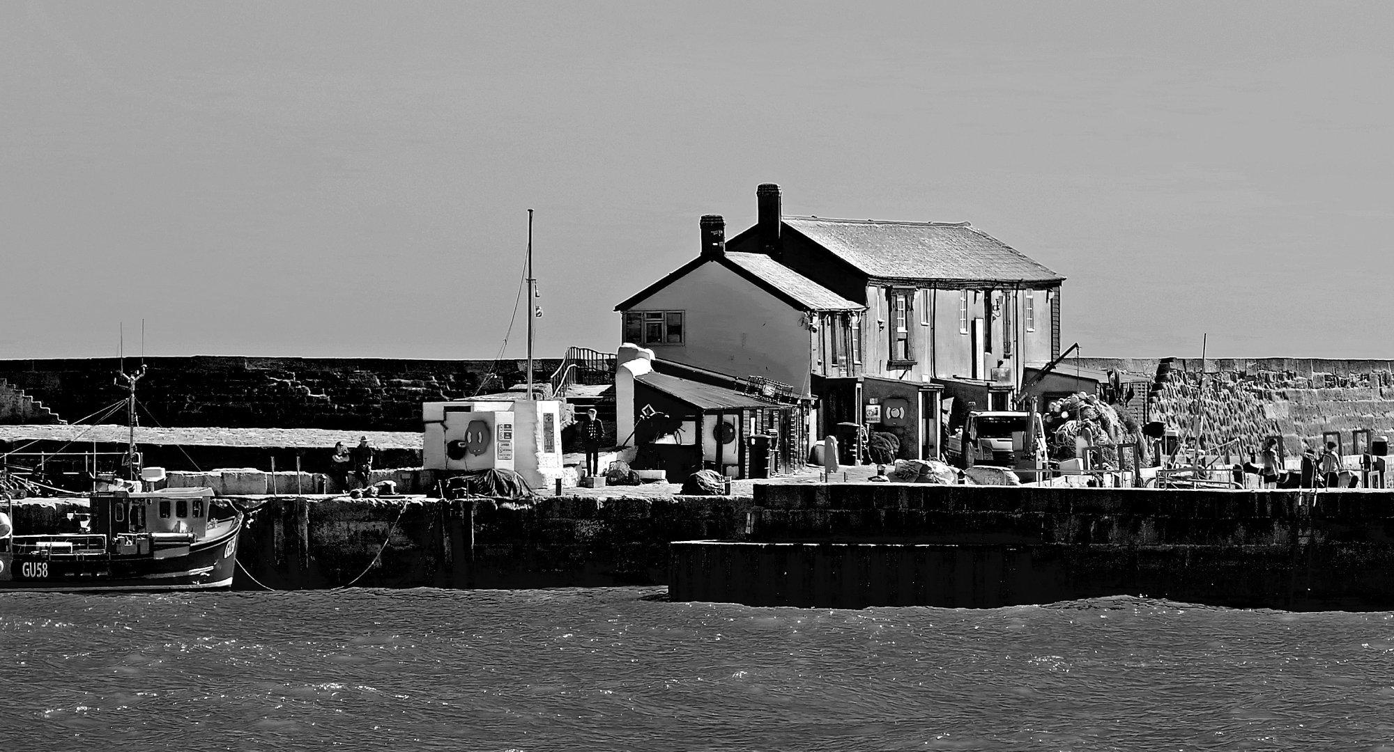 Cobb Buildings, Cobb, Lyme Regis