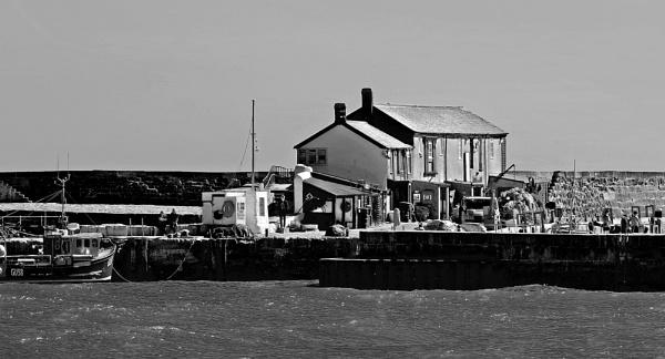 Cobb Buildings, Cobb, Lyme Regis by starckimages