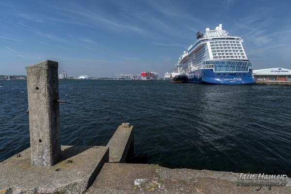 Celebrity Edge at City Cruise Terminal Southampton by IainHamer