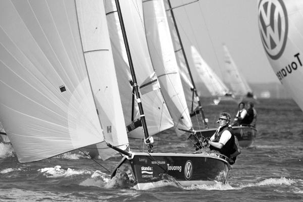 Dinghy Racing by sandwedge