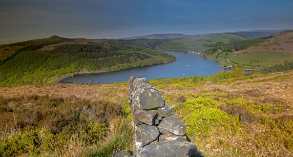 Looking Down on Ladybower by mmart