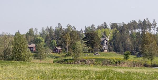 Kattelus windmill. by kuvailija