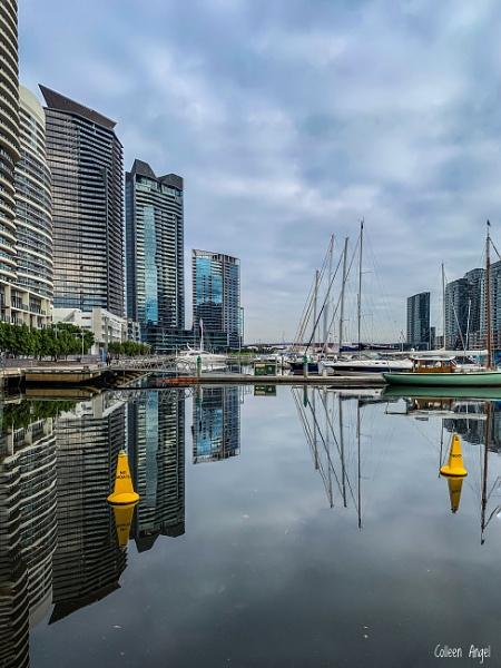 Marina reflections by ColleenA