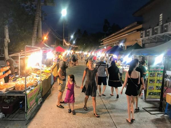 Street Market Bophut Koh Samui by caj26