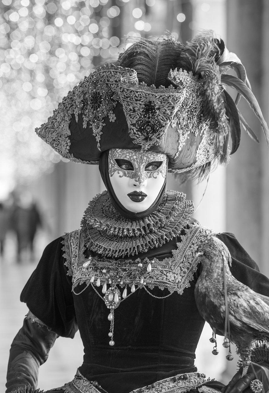 Annette Rose at Venice Carnival 2019