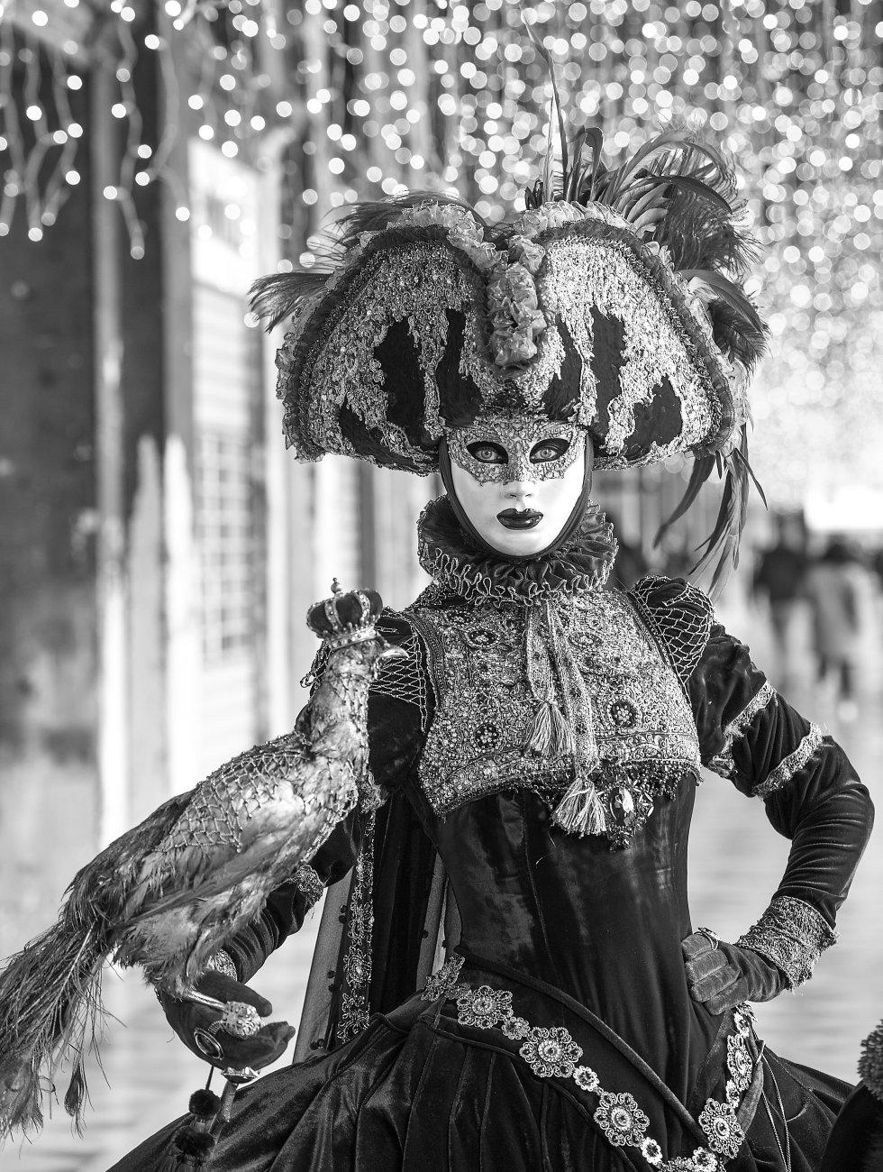 Mona Rose at Venice Carnival 2019