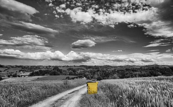When I walk that walk. by Spincervino