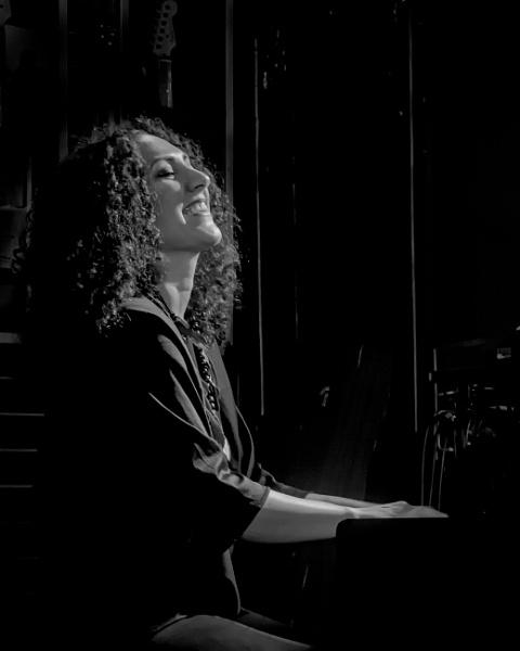Jazz Pianist Zela Margossian by barryyoungnz