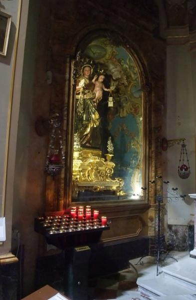 Carmelite Priory detail  - Mdina, Malta by MentorRon