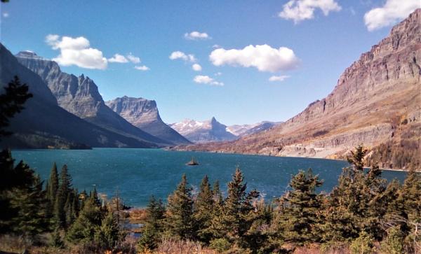 Wild Goose Island/St. Mary\'s Lake by maureenwaite
