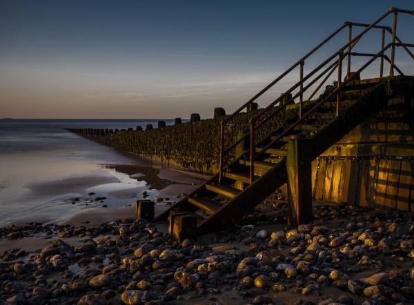 Evening Steps by Dwaller