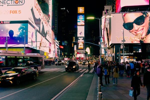 New York Nights by scrimmy