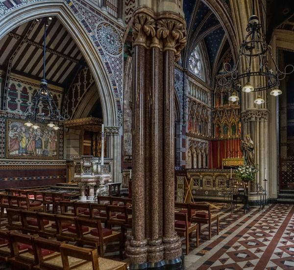 All Saints church Margaret Street London by StevenBest