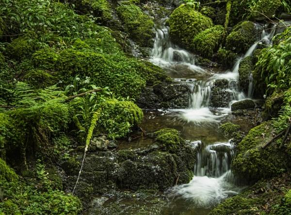 Waterfall - Dollar Glen by Irishkate
