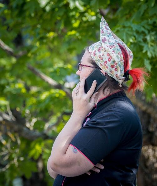 Telephone call. by kuvailija