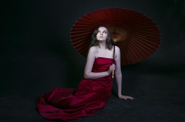 Lady in Red. by shishidog