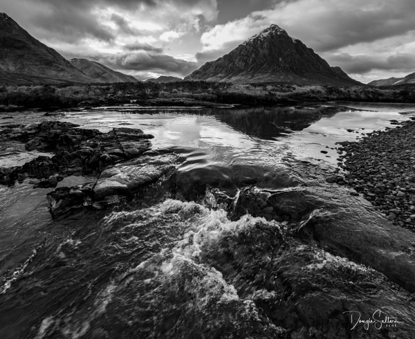 Moody River... by Scottishlandscapes