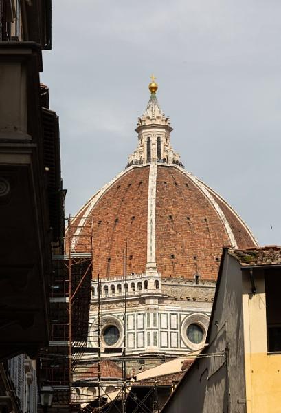 Dome of Cattedrale di Santa Maria del Fiore by rninov