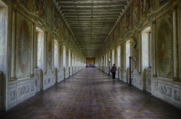 Corridor Grande, Sabbioneta (Italy) by Spincervino