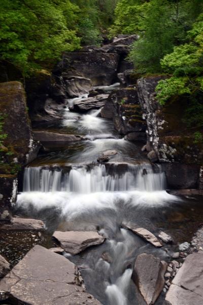 Bracklinn Falls , Callendar , Trossachs - Scotland by onlythepony