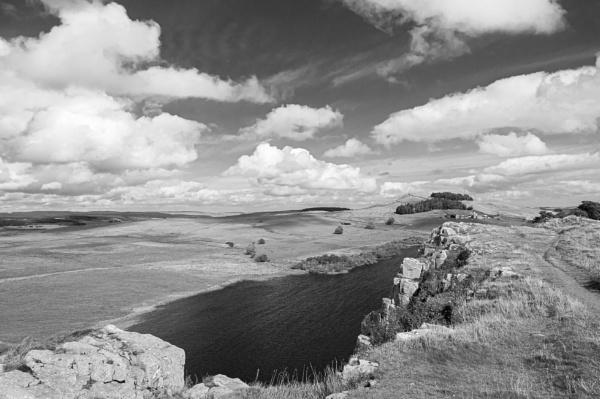 Black and white Northumbria by Ingymon