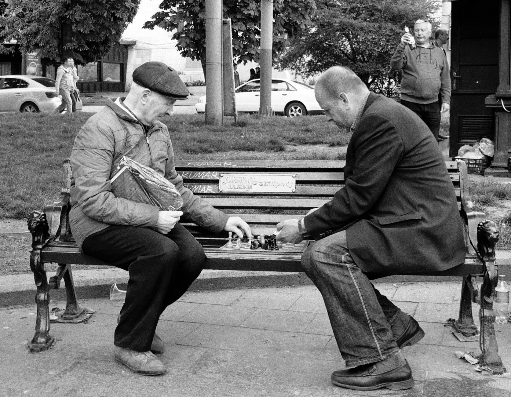 Game of Chess, Lviv Ukraine
