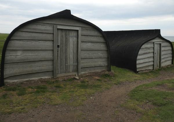 Northumberland boat huts by Alan26