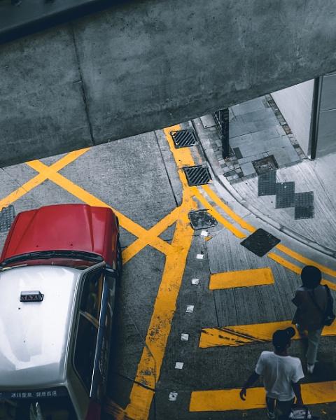 Hongkong taxi by david_sgre