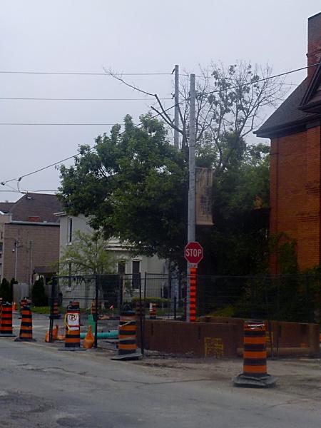 CONSTRUCTION SITE on LOCKE STREET on a THURSDAY MORNING by TimothyDMorton
