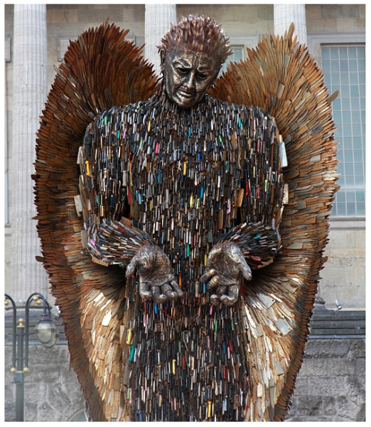 Knife Angel by babajoshua