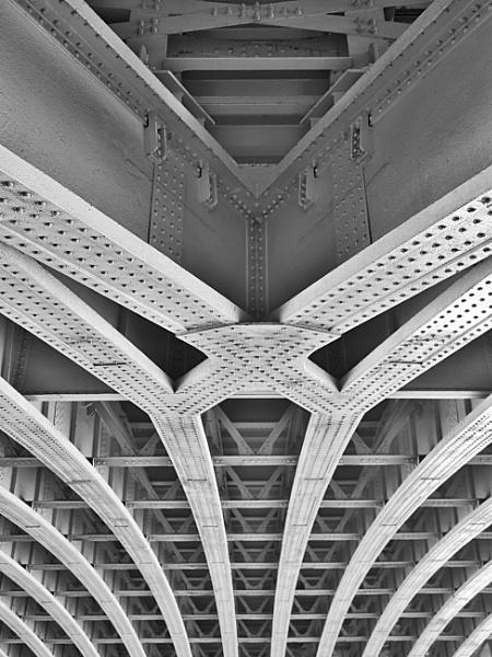 Under Blackfriars Bridge by StevenBest