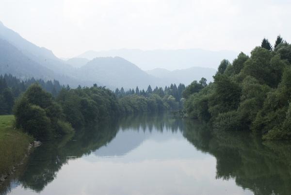 Sava Bohinjska, Slovenia by jon07wilson