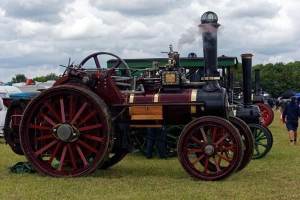 country steam fair, codicote . by retroman