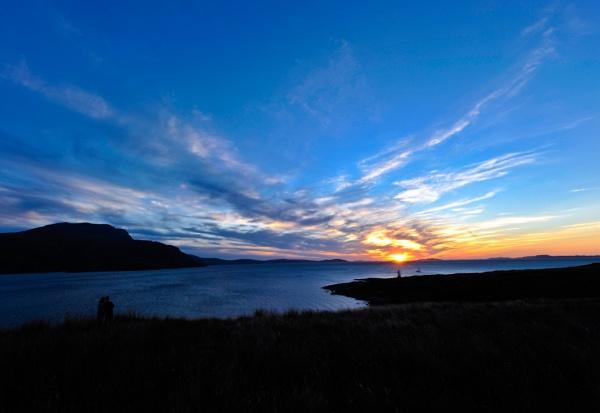 Rhue Sunset by NevJB
