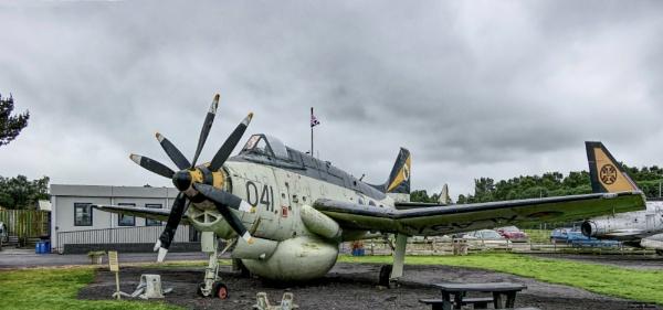 XL497 (041/R) Fairey Gannet AEW 3 by Tooma