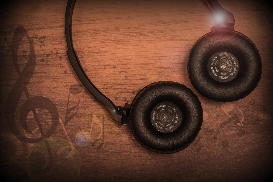 Headphones moment